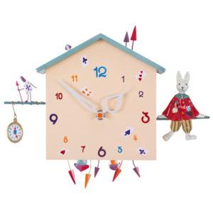 The-Rabbit-children's-wall-clock