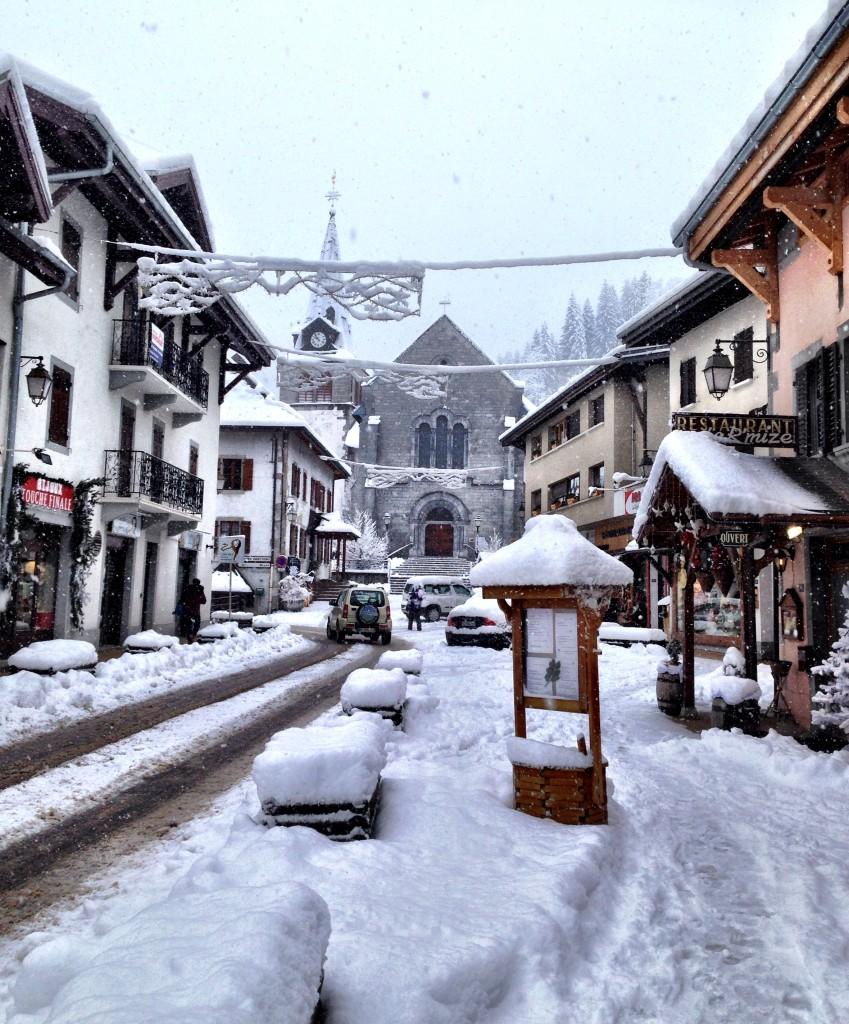 Les Gets snow time