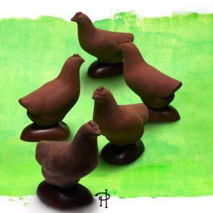 Pierre Herme Paris - chocolate hens