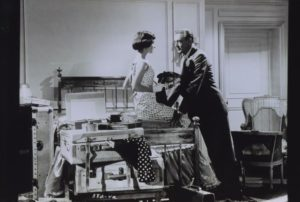 Audrey-Hepburn and Gary Cooper at the Ritz in the 1950s @Archives-Ritz