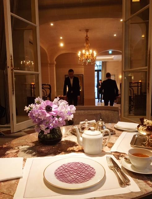 Most beautiful tea rooms of Paris Jardin d'Hiver Hotel de Crillon
