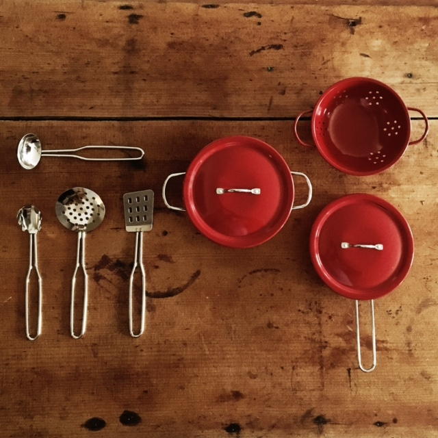 Moulin Roty Je Cuisine French cooking set - Little French Heart full set