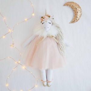 Winter Unicorn Little French Heart