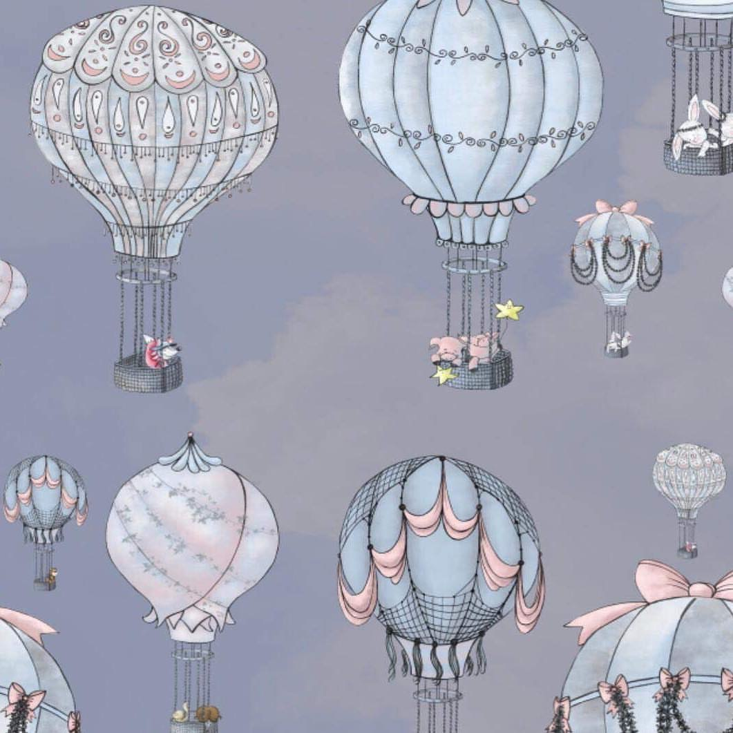 Air balloons nursery decor Lily and the Wall (2)