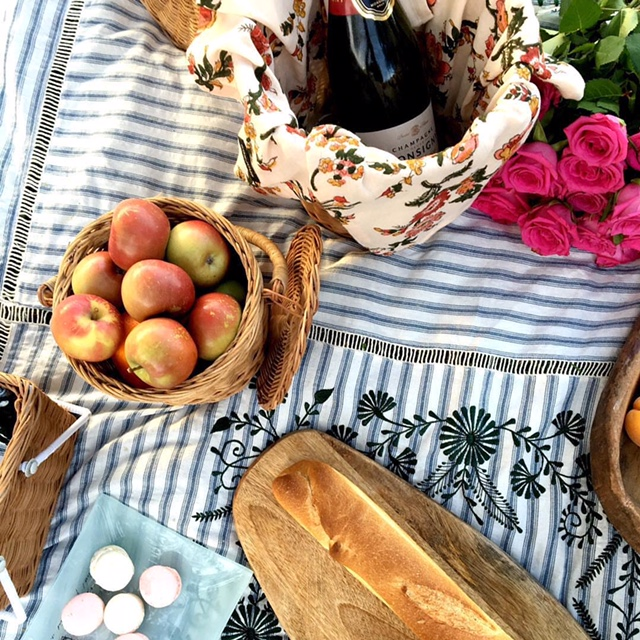 Little French Heart Picnic