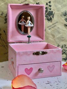 Musical Jewellery Box Petite Ballerina Paris