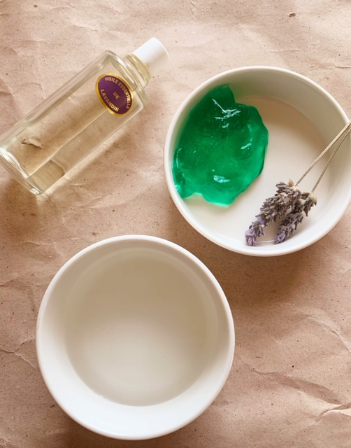 Make your own French Lavender Hand Sanitiser Little French Heart 1