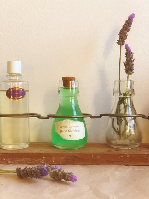 Make your own French Lavender Hand Sanitiser Little French Heart Hands