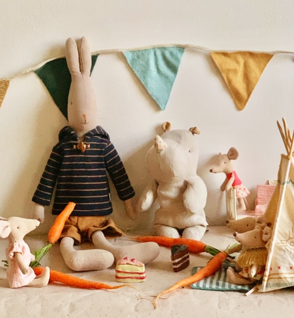 Maileg Toys in A Maileg Tale to Delight Young Children
