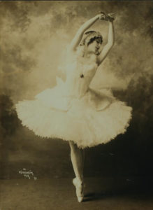 Anna Pavlova, costumed in Swan Lake Little French Heart