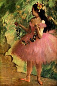 Edgar Degas Ballerina Little French heart