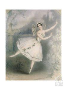 GIselle Ballerina Littel French Heart