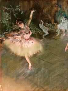Little French Heart - Degas