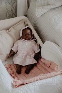 Bonne Mere Dolls Blanket - Rose