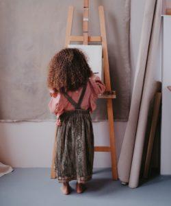 Louise Misha Girls-Dress-Nouchka-OliveVelvet-5 Little French Heart