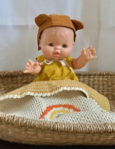 Paola Reina Gordis Noah Baby Doll with accessories